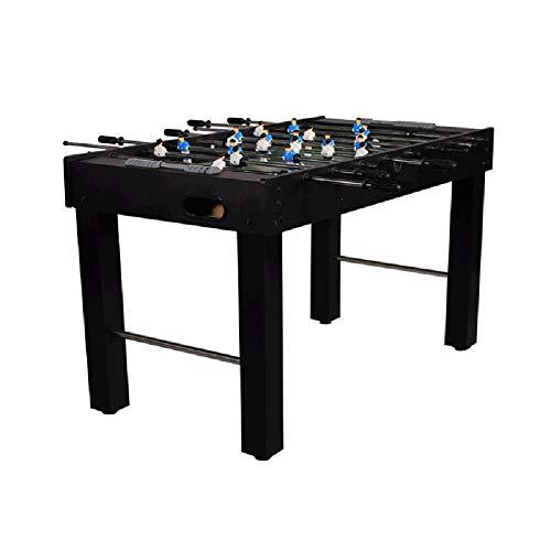 IOIOA Eenvoudige installatie van voetbal tafel MDF paneel dubbele spel tafel voetbal Analoge Scoring en gratis Accessoires Afmetingen - 1210 * 790 * 610mm