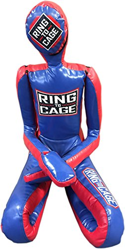 Ring to Cage Deluxe MMA Grappling/Jiu Jitsu/Ground & Pound Dummy 3.0 (Adult (Filled))