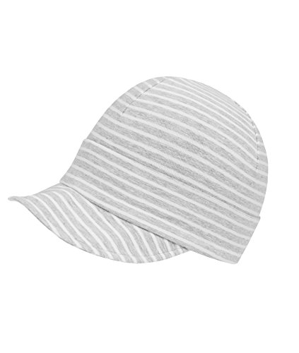 Döll Unisex Baby Jersey Schirmmütze, Grau (Light Gray Melange 8100), (Herstellergröße: 49)