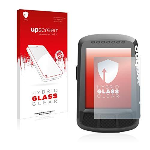upscreen Protector Pantalla Cristal Templado Compatible con Wahoo Elemnt Bolt GPS Hybrid Glass - 9H Dureza