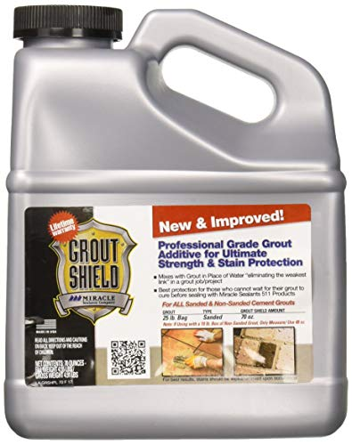 Miracle Sealants GRSHNI2 Grout Shield New & Improved, 72oz Penetrating Sealers, 72 oz