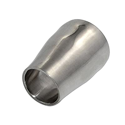 """Megairon 25MM to 19MM 1"""" to 0.75"""" Tube OD Sanitary Concentric Reducer Coupling,Stainless Steel 316 Pipe Fitting"""