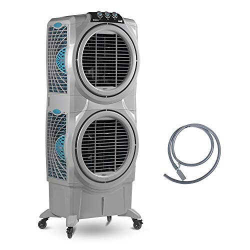 Symphony Sumo 75XL DD Desert Air Cooler(Grey, 75 Litres)