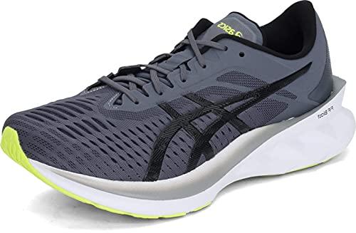 ASICS Men's NOVABLAST Running Shoes, 12.5M, Metropolis/Black