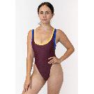 RNT511 - Tricolor One Piece Bathing Suit – Los Angeles Apparel