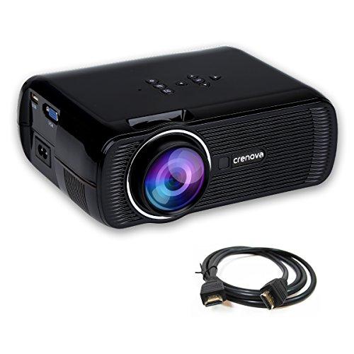Crenova® XPE460Proiettore Mini proiettore LED con...