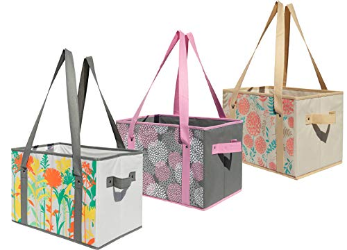 Earthwise Deluxe Collapsible Reusable Shopping Box...