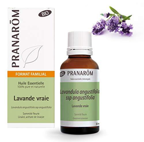 Pranarôm - Aceite Esencial de Lavanda Bio - Sumidad Florida - 30 ml
