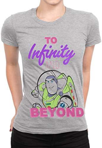 Disney Camiseta para Mujer Toy Story Buzz Lightyear