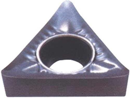 Cobra Carbide 72060 Solid Carbide Turning Insert, Uncoated (Bright) Finish, TCGX Style, 1/4