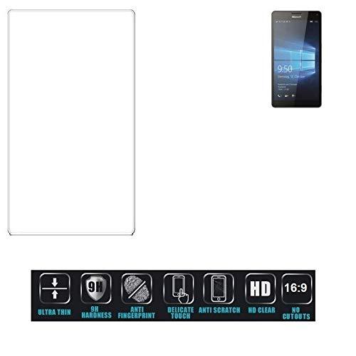 Für Microsoft Lumia 950 XL Dual SIM Schutzglas Glas Schutzfolie Glasfolie Bildschirmschutzfolie Bildschirmschutz Hartglas Tempered Glass Verb&glas Für Microsoft Lumia 950 XL Dual SIM 16:9 Format,