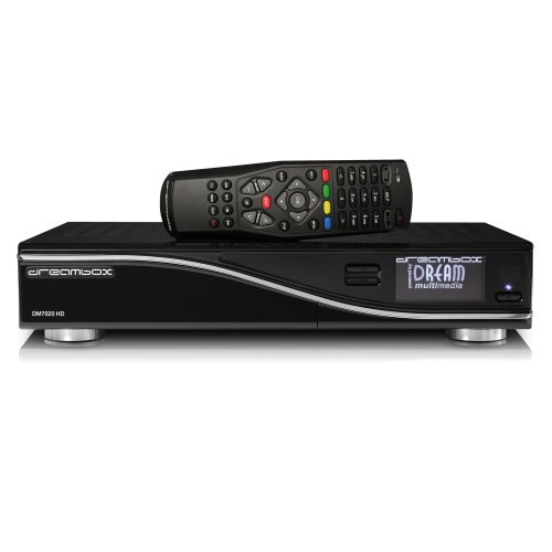 Dream-Multimedia DM 7020 HD AV-Receiver (HDMI, DVB-T/DVB-C Tuner, Linux, USB 2.0) schwarz