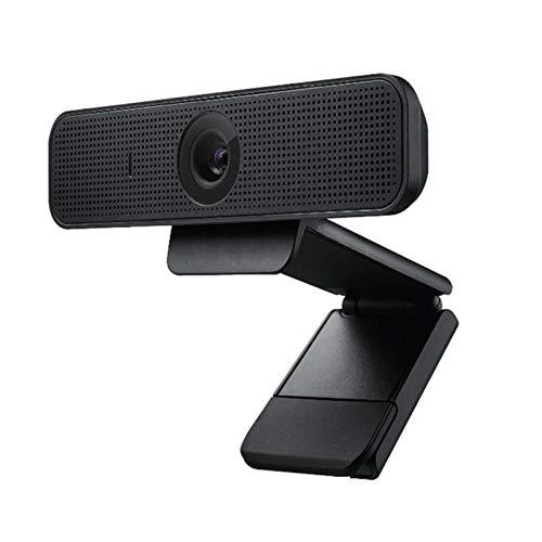 Cámara web Micrófono estéreo 4k 1080p Clase línea HD USB vivo Videollamadas Grabación conferencias Transmisión datos para reuniones negocios Computadora escritorio Computadora Cámara web portátil