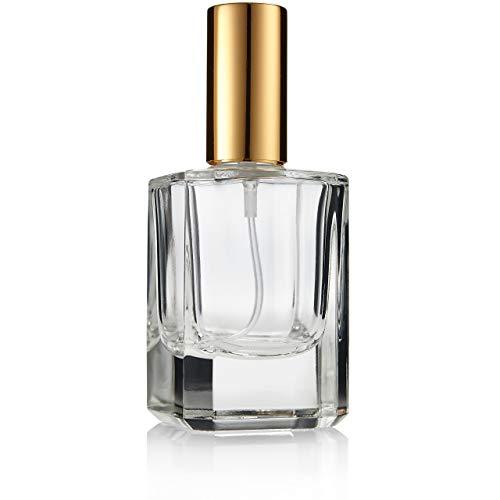 Fantasia - 46194 - Flacon de parfum (vide) avec Vaporisateur et capuchon - Contenance 50 ml - Or