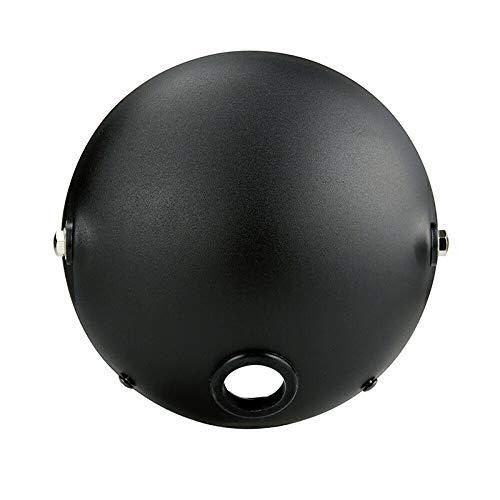 7 Inch Round Head Light Outer Cover Motorcycle Headlight Mounting Housing Bucket Shell Cover Hub for Harley