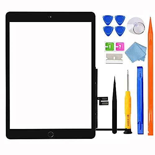 GoodFixer Touchscreen Digitizer für iPad 7/8 Display, 10.2Inch 2019 2020 Digitalisierer,für 7.Generation/8.Generation A2197 A2198 A2200,A2270 A2428 A2429 A2430