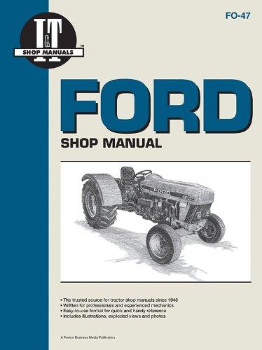 Ford MDLS 3230 3430 3930 4630+ (I & T Shop Service Manuals)