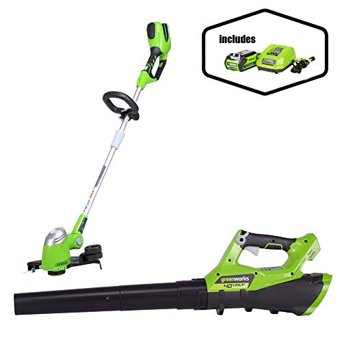 Find Discount Greenworks G-MAX 40V 13 String Trimmer + Jet Blower