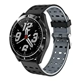 MinusK NH5 Smartwatch Fitness Bracelet Watch Full Touch Screen Fitness IP68 Waterproof Fitness