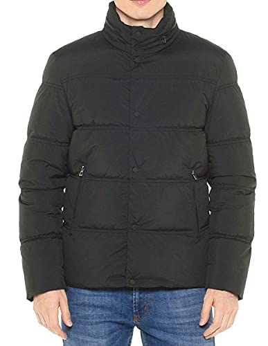 Geox Man Down Jacket Giubbotto Uomo Nero 58