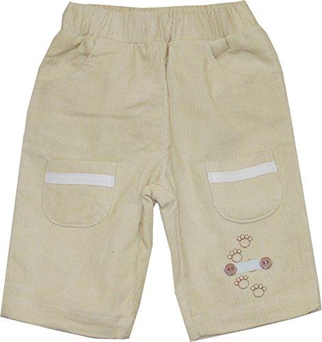 Schnizler Dziewczęce spodnie sztruksowe z elastycznym ściągaczem