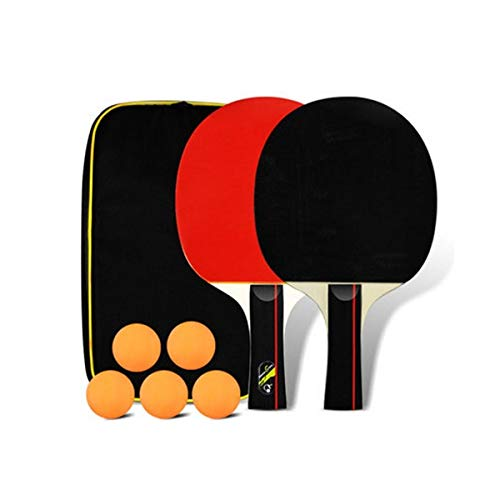 Lowest Prices! HENGTONGWANDA Table Tennis Racket, Genuine Double-Sided Anti-Adhesive Racket, Carbon ...