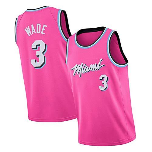 Miami Heat # 22 Jimmy Butler # 14 Herro y # 3 Wade Basketball Jersey Camiseta Bordada Camiseta Camiseta Camiseta Camiseta sin Mangas