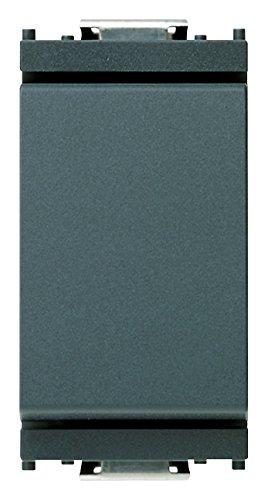 Vimar 0R16005 Idea Deviatore elettrico a muro 1P 16AX grigio