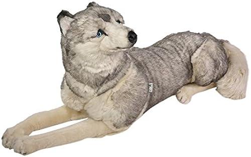 nuevo estilo Piutrè 221285cm 221285cm 221285cm Tumbado Peluche de Husky Siberiano  tienda de venta
