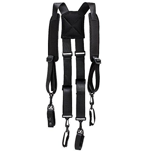 Melo Tough Police Duty Belt Suspenders Tactical Suspenders Harness Suspenders