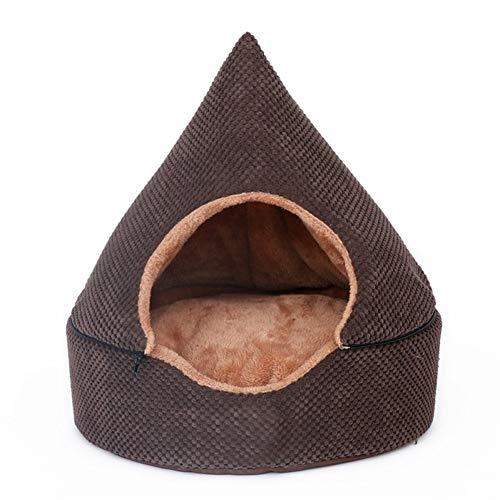Four seasons Comfortable Pet Nest All Seasons Available Pet Bed Detachable Pet Cave Washable Pet House Cat Dog Cosy Bed (Color : C, Size : M)