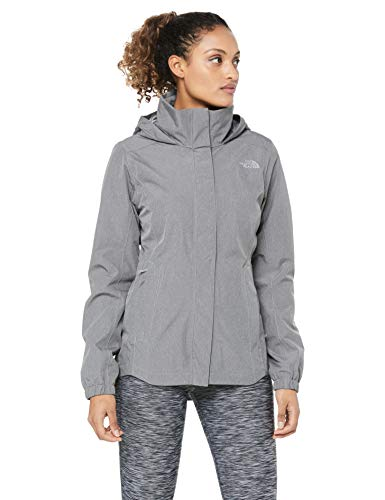 The North Face Women's Resolve Parka II, TNF Medium Grey Heather, Size L