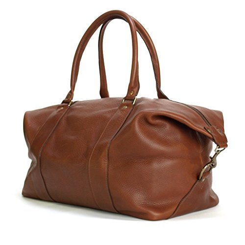 Why Choose Weekender Travel Overnight Duffel Bag Made With Full Grain Leather
