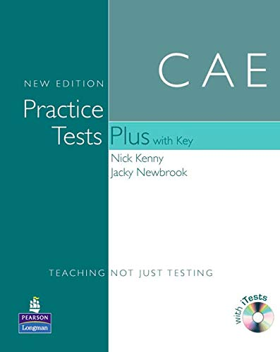 CAE Practice Tests(+[With Key and Audio CD]) (Practice Tests Plus)