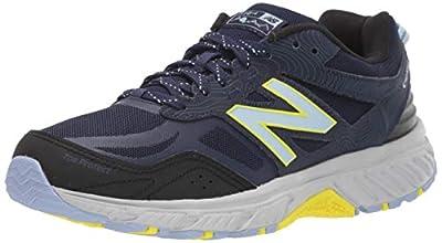 New Balance Women's 510 V4 Trail Running Shoe, Orion Blue/Navy, 10 M US