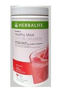 5 Herbalife Formula 1 Nutritional Shake Mix (750g) - Wild Berry