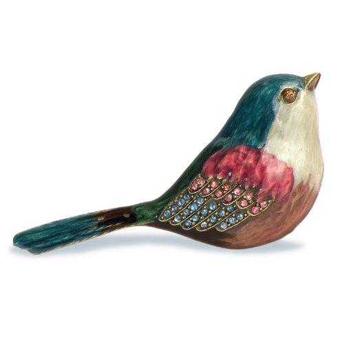 SELETTI Bouton décoré en métal « Pom Pom » - Oiseau 6070-1Eg7S