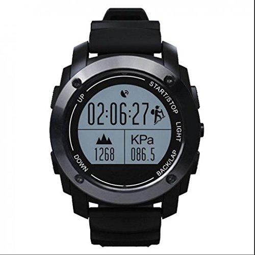 Smartwatch con cámara remota, podómetro de Seguimiento de calorías Salud, Respuesta o dial Llamadas, Deporte al Aire Libre Reloj Inteligente, Smart Fitness Reloj para Android y Apple iOS