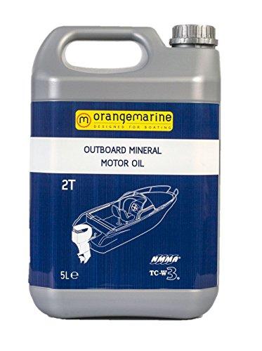 ORANGE MARINE orangemarine 1215002Aceite para Motor de Barco Unisex, Gris, 5L