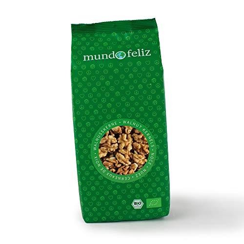 Mundo Feliz Walnushälften aus Bio-Anbau, 3 x 300 g