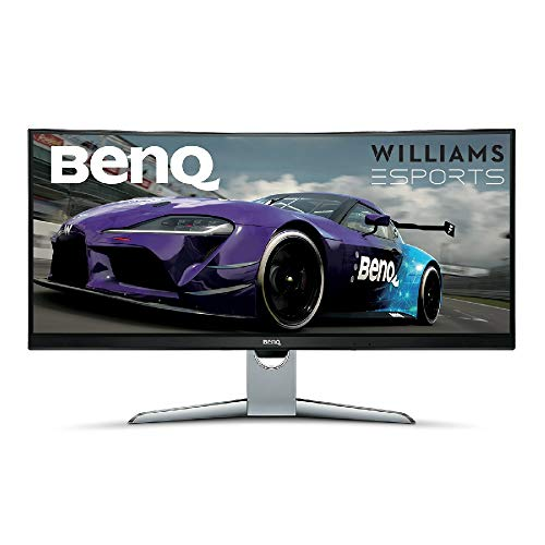BenQ Gaming Monitor Curved/100Hz/FreeSync/HDR/HDMI/DP 35 Zoll (Ultra Wide QHD) zwart