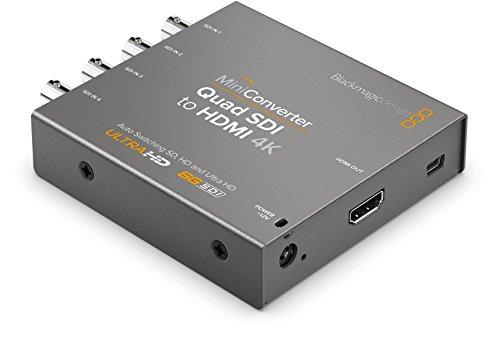 Blackmagic Design Mini Converter Quad SDI to HDMI 4K (CONVMBSQUH4K2)