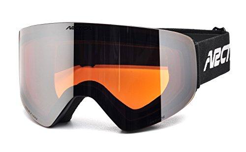 Arctica ® ski- en snowboardbril G-108 met dubbel lenzensysteem & anti-condens behandeling