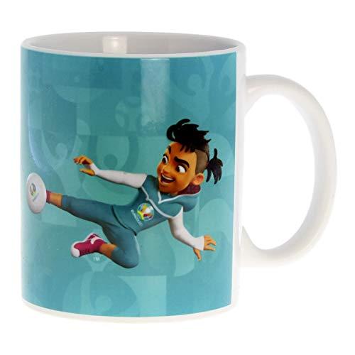 UEFA EURO 2020™ - Kaffeetasse Skillzy - offizielles Maskottchen - 320 ml in Geschenkbox