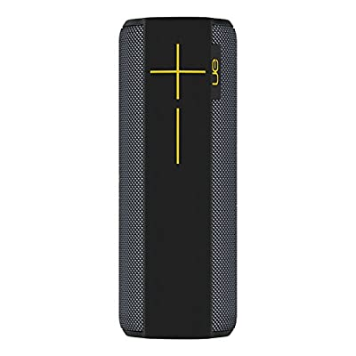 Ultimate Ears Megaboom Bluetooth Speaker, Wireless, Deep Bass, Portable, Wireless, 20 Hour Battery, Shockproof, 100 ft Range, Outdoor, Aux-In, Panther Limited Edition by Ultimate Ears