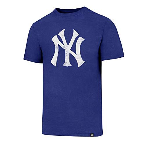 '47 Camiseta del Club de los New York Yankees Knockaround para Hombre Azul Cobalto L