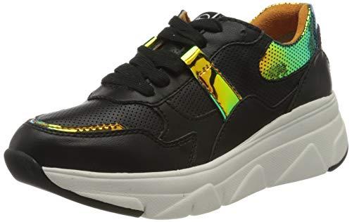 Tamaris Damen 1-1-23741-24 Sneaker, Schwarz (Black Comb 98), 40 EU