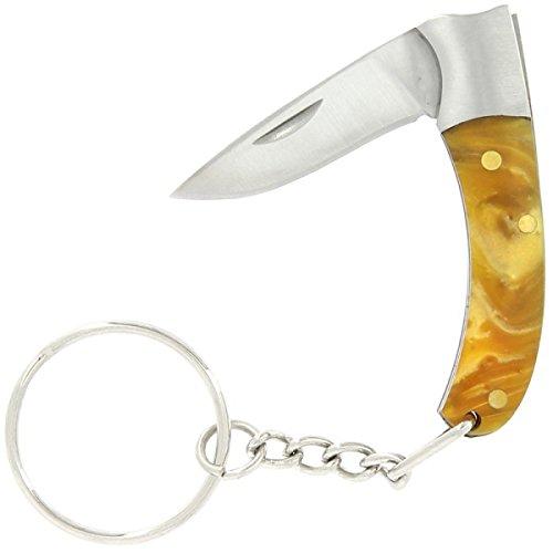 G8DS® Mini Taschenmesser am Schlüsselring Schlüsselanhänger