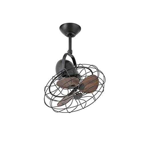 Faro 33715 - KEIKI Ventilatore da soffitto marrone