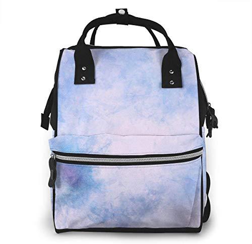 Wickeltasche, vielseitig einsetzbar, stilvoll und langlebig, geeignet für Mama und Papa (bunte Textur, Farbspritzer, digitale Kunst)